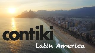 Contiki Latin America Adventure - Amazing drone views