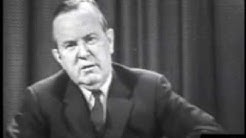 November 22, 1963 - Prime Minister of Canada, Lester B. Pearson following President Kennedy's death