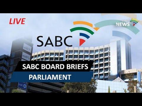 SABC Board before Parliamentary Committee