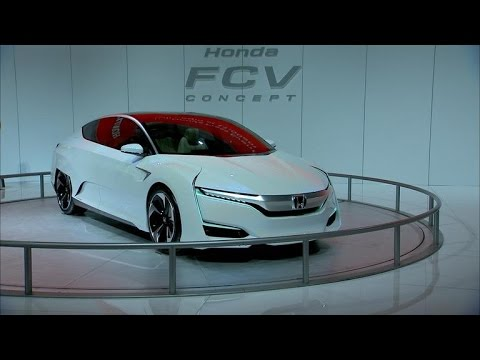 Car Tech - Honda FCV Concept