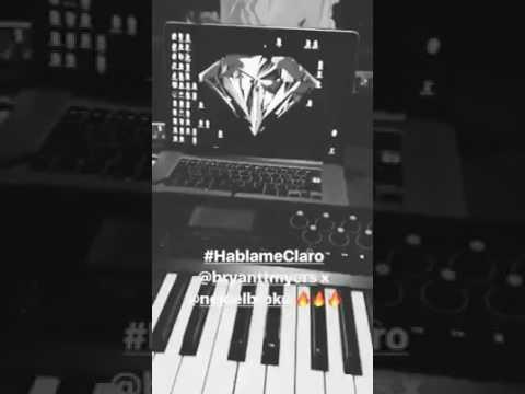 Bryant Myers Ft Ñejo Hablame Claro Dj Caspol Remix & Edit's