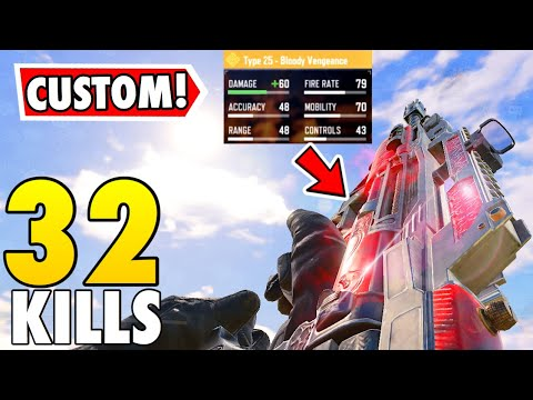 THIS TYPE-25 CUSTOM SETUP IS OP!! | CALL OF DUTY MOBILE BATTLE ROYALE! thumbnail
