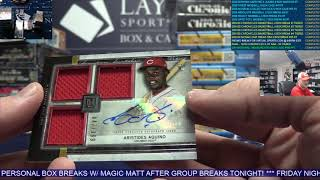 1 Box 2020 Museum Collection MLB Break for Brad W