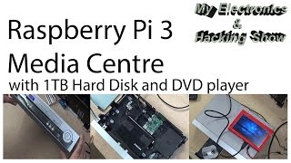 Raspberry Pi 3 Media Centre with 1TB HDD and DVD in a VCR (MEHS) Episode 43