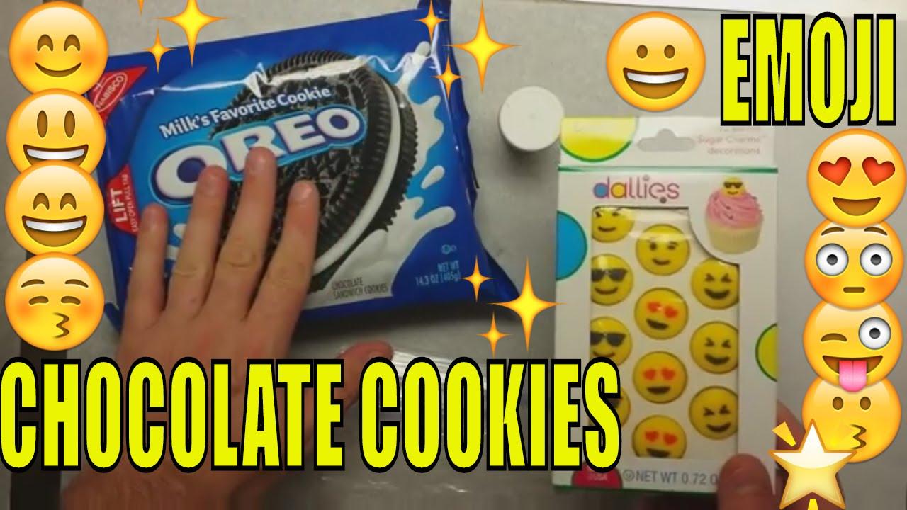 Emoji Cookies How To Make Emoji Chocolate Covered Oreos