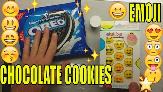 Emoji Cookies How to make emoji chocolate covered oreos Recipe to Do it Yourself Baking Basic