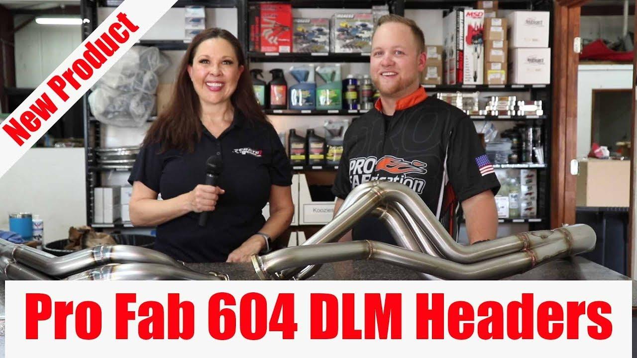 NEW! Pro Fab 604 Dirt Late Model Headers
