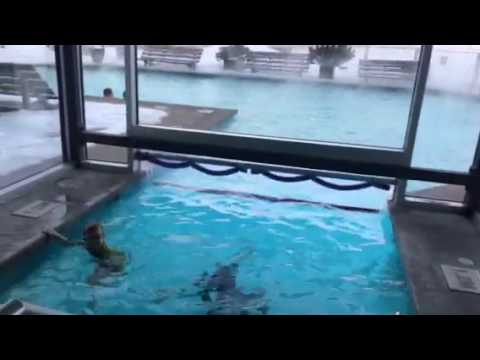 Piscine Du Hilton Quebec Par 10 Defre Youtube