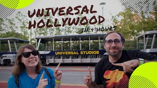 Universal Studios Hollywood In Only 4 Hours: Jurassic World The Ride at Night thumbnail