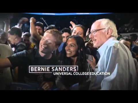 Bernie Sanders For President 2016 Burlington, IA DA1 mp4