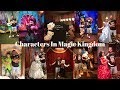 Meeting Every Character In Magic Kingdom For My 100th Vlog| Our First Look At Halloween Merchandise!