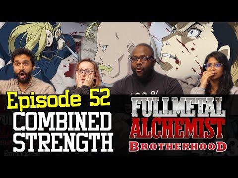 Fullmetal Alchemist: Brotherhood - Episode 52 Combined Strength - Group Reaction