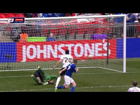 Chesterfield vs Peterborough United - Johnstone's Paint Trophy Final 2013/14