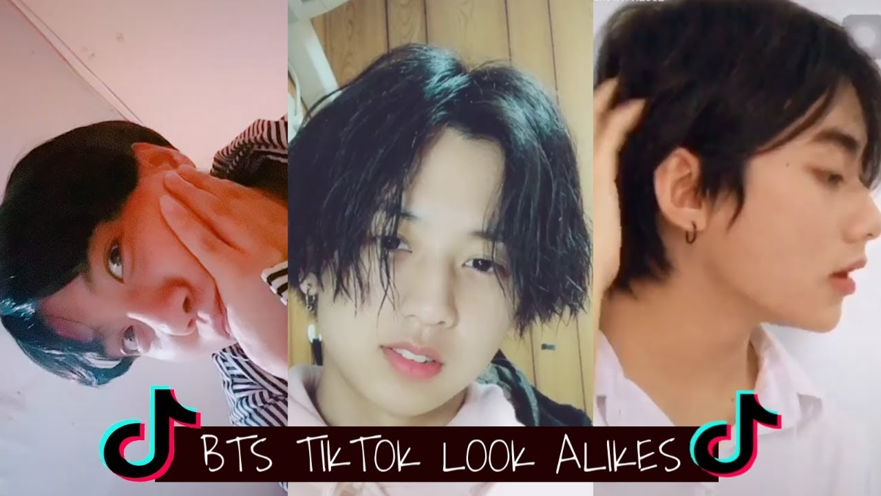 [LA] BTS tiktok look alike: JHOPE,TAEHYUNG,JUNGKOOK (with links)