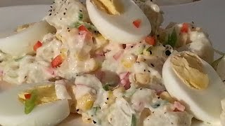 Potatoes Salad Nice One | Recipes By Chef Ricardo