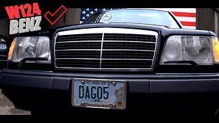 видео: Mercedes Benz W 124 стоимостью 123 000 000 советских рублей!!!