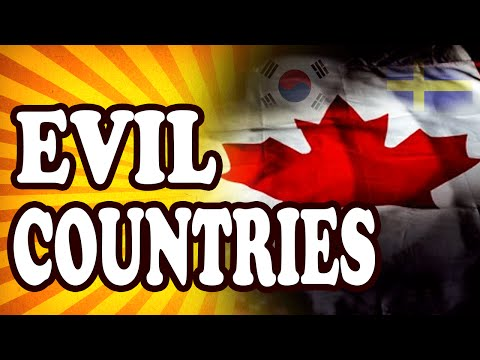 Top 10 Evil Actions By Usually Nice Countries — TopTenzNet