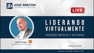 """Webinar """"Construyendo Campeones"""" - Rubén Duque"""