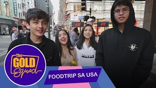 FOOD TRIP SA AMERICA!   The Gold Squad