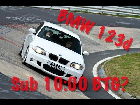 BMW 1 Series 123d E87 Hatch Nürburgring Nordschleife Touristenfahrten - 11/04/2017