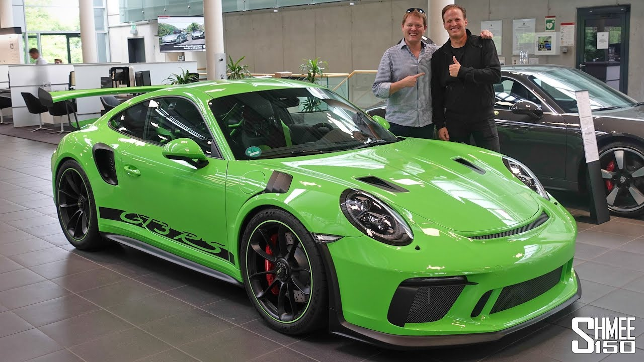 Collecting My Friends New Porsche  Gt Rs