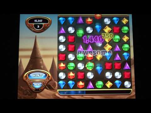 Classic Game Room - BEJEWELED HD review for iPad