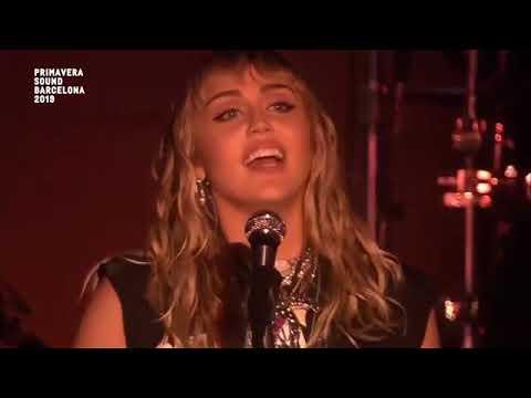 Miley Cyrus – Live at Primavera Sound Festival 2019