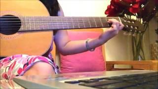 guitar cover Tôi đưa em sang sông - Nhật Ngân