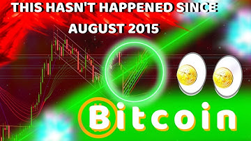 BITCOIN HASN'T DONE THIS SINCE AUGUST 2015!!! 4 ALTCOINS THAT WILL EXPLODE THIS YEAR!?!?