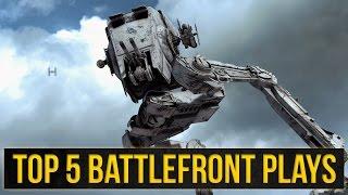Top 5 Battlefront Plays: Schickt mir eure besten Star Wars Battlefront Clips!