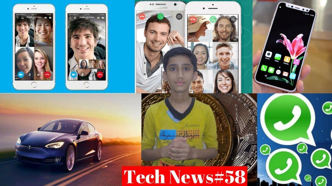 tech news#58 - whatsapp group video calling,nokia 9,whatsapp group