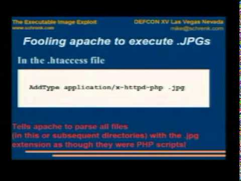 DEFCON 15: The Executable Image Exploit