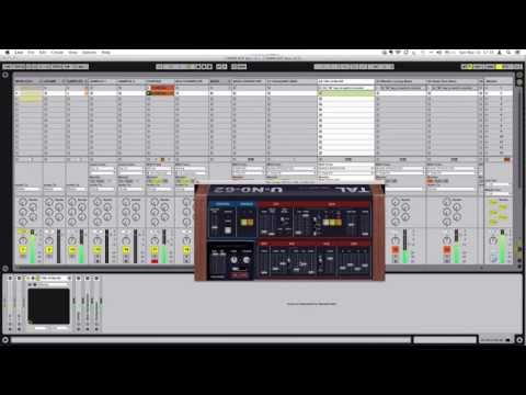 Free Ableton Rack - Disclosure Style House Organ