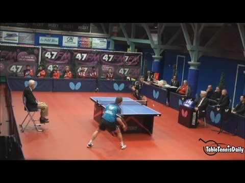 BEST SWAP HAND SHOT IN THE HISTORY OF TABLE TENNIS!