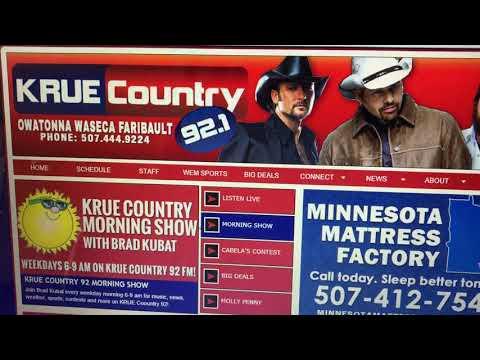 KRUE Country 91.2 Radio Interview (2017)