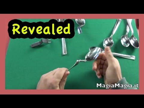 Magic Tricks : Spoon magic tricks revealed