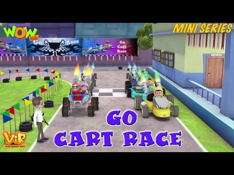 Go Cart Race - Vir Mini Series - Vir The Robot Boy - Live In India
