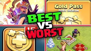 The BEST and WORST of the Clash of Clans UPDATE!