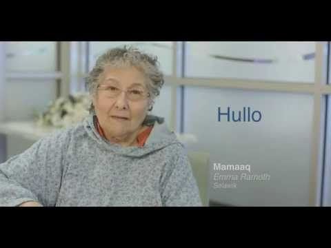 The Iñupiaq Word of the Week (IWOW) is Hullo.