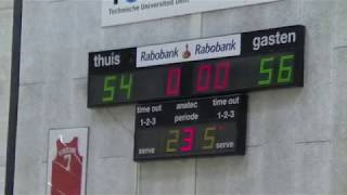 20 april 2019 Punch MSE3 vs Rivertrotters MSE2 91-72 3rd period