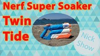 Nick Show Nerf Super Soaker Twin Tide