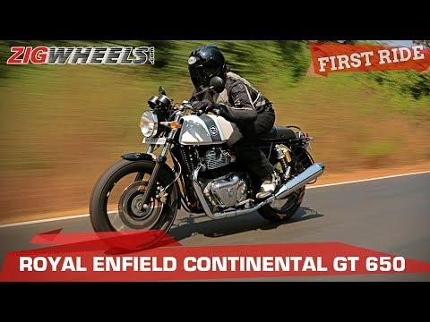Which 650cc Royal Enfield - Continental GT or Interceptor? | ZigWheels.com