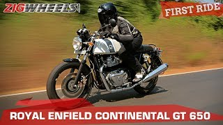 Which 650cc Royal Enfield - Continental GT or Interceptor? | ZigWheels.com
