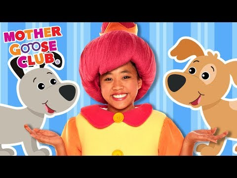 Ten Little Puppy Dogs | Learn to Count Animals | Mother Goose Club Songs for Children