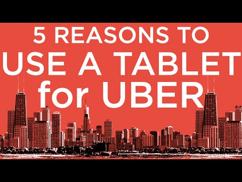 5+ reasons Why using a Tablet for Uber is essential