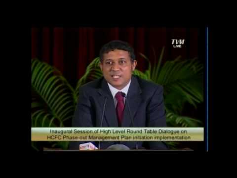 H.E. Mr Hohamed Aslam, Minister of Housing, Transport and Environment , Maldives - Part II