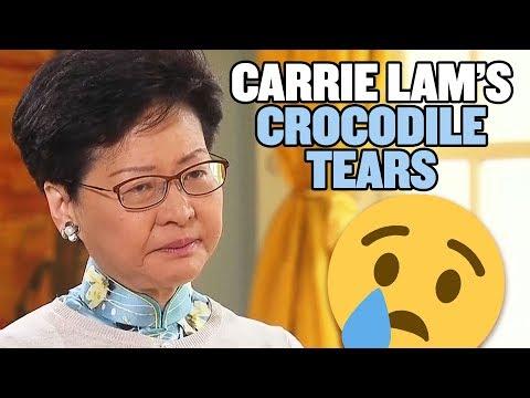 Hong Kong Protestors Make Carrie Lam Cry  Hong Kong Extradition Bill Protests  China Uncensored