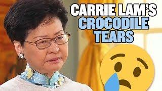 Hong Kong Protestors Make Carrie Lam Cry!!!   Hong Kong Extradition Bill Protests   China Uncensored