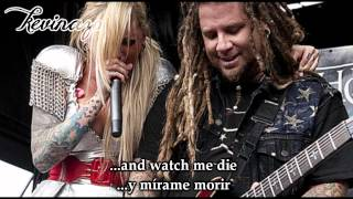 Burn - In This Moment - (Lyrics+Subtitulos al español)