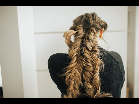 Double Twisted Fishtail Braid Tutorial